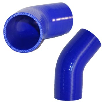 45 degree blue hoses