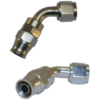 Stainless Steel Lines 60 Degree Adaptor